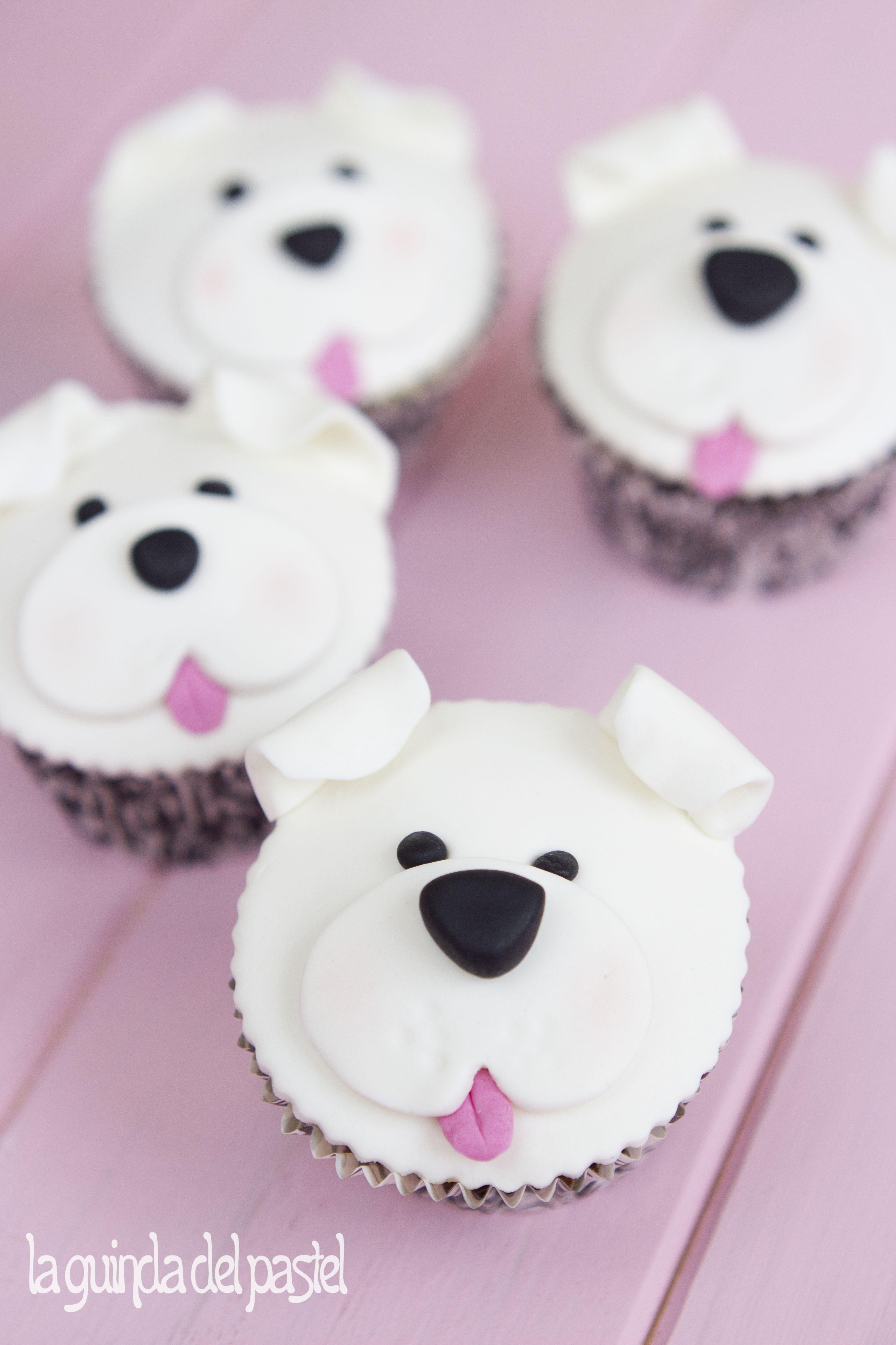 ... en fondant sobre cupcake. | Cupcakes | Pinterest | Cupcake and Fondant