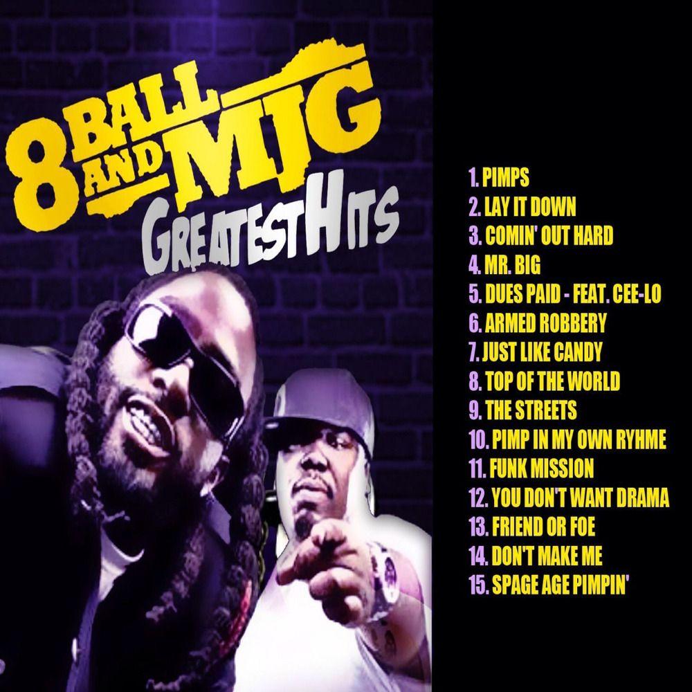 8Ball & MJG Greatest Hits MP3 Download | PressureMP3 CD's