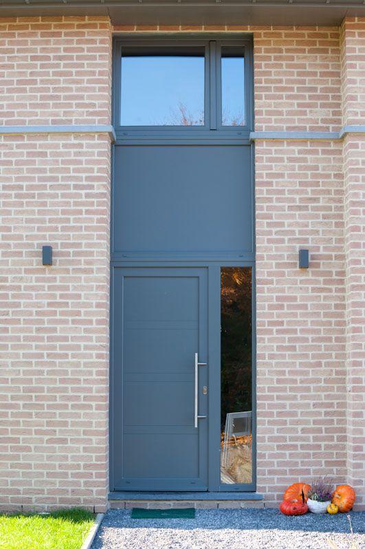 parement en briques ton brun anderlechecht bandeau en. Black Bedroom Furniture Sets. Home Design Ideas