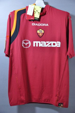 separation shoes 195b6 198c3 AS Roma Home Jersey Shirt Series A 2004 Vintage Collection ...
