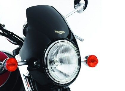 Triumph Bonneville Fly Screen - Pure-Triumph | The Vintage