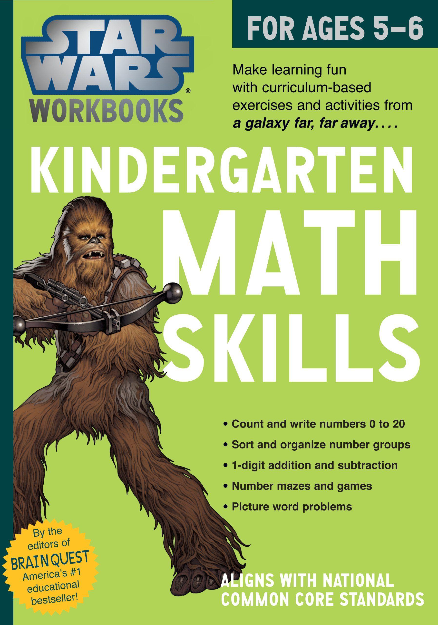 Star Wars Workbook Kindergarten Math Skills 8