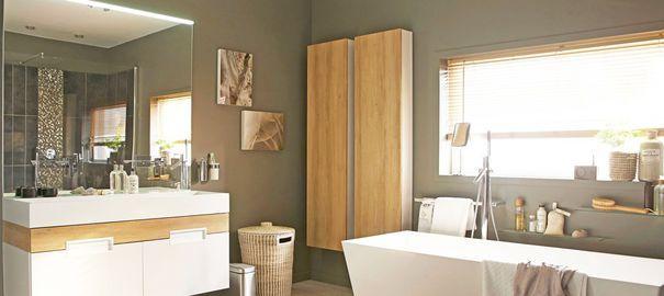 Relooking salle de bains sans travaux Je change, Leroy merlin et - Prix Des Gros Oeuvres Maison
