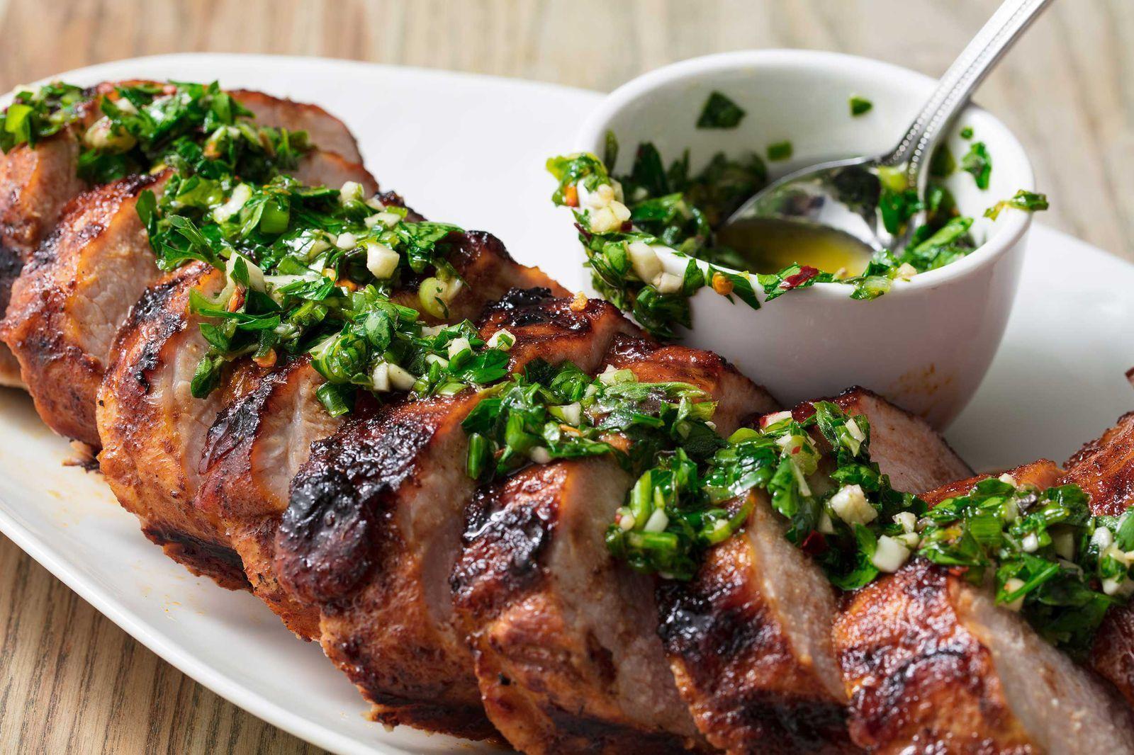 Grilled pork tenderloin is a summer mustdelish pork