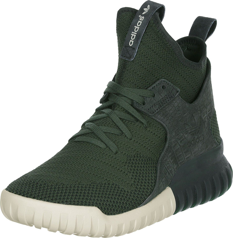 Adidas Tubular X Primeknit Herren Sneaker Grün: