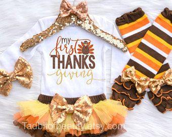 1st Thanksgiving girls Outfit,Thanksgiving girls outfit,Thanksgiving smash cake outfit,Cutest Turkey in Town,Thanksgiving tutu bloomer