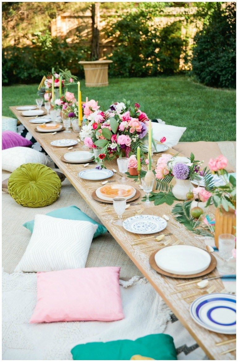 Photo of Boho chic party for the 30th birthday