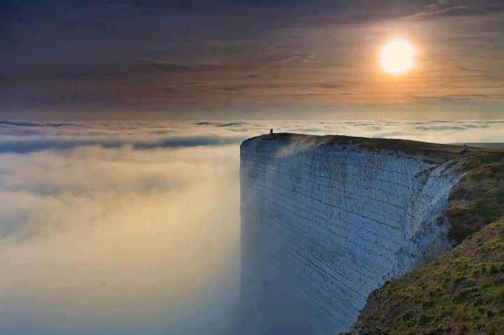 Click perfeito na Costa sul da Inglaterra...
