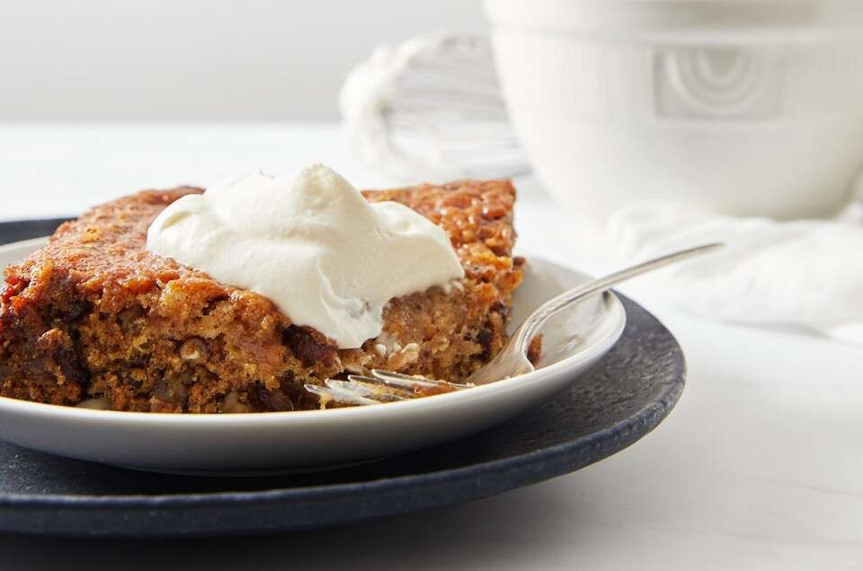 Date Pudding | Recipe in 2020 | Date pudding, Trifle ...