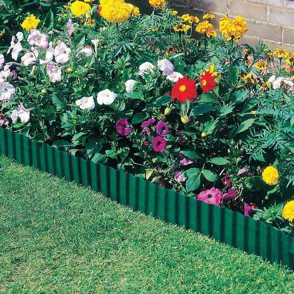 Modern Garden Edging Ideas: Plastic Lawn Edging Ideas Lowes