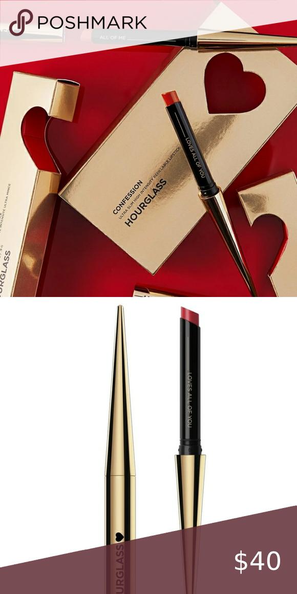 NIB Hourglass Confessions Lipstick