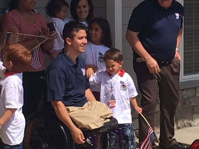 84 Lumber Donates Materials to Build Specially Adapted Home in Virginia for Injured Marine Sergeant #pwliving