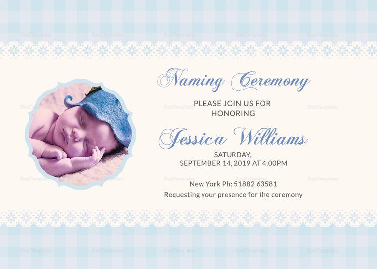 wonderful baby naming ceremony