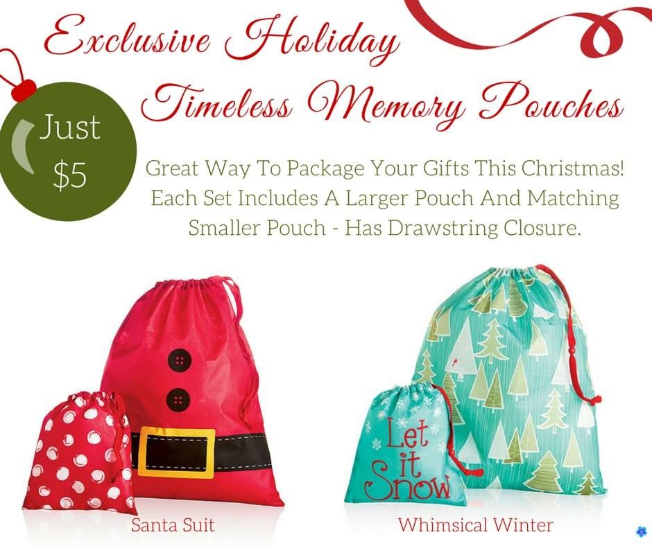 Holiday Pouches