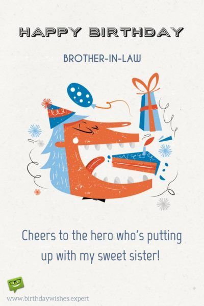 Funny Brother In Law Birthday : funny, brother, birthday, Brother, Friend, Happy, Birthday,, Brother-in-law!, Birthday, Quotes,, Cards, Brother,