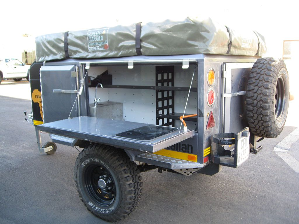 the metalian maxi 4x4 off road camping trailer view the. Black Bedroom Furniture Sets. Home Design Ideas