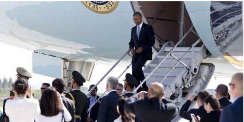 Se desata trifulca entre delegación de Obama y autoridades en...