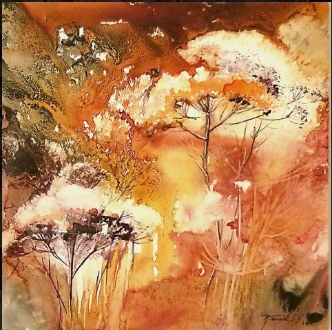 Farail Aquarelle Peinture Fleurs Aquarelle Fleurs Et Peinture