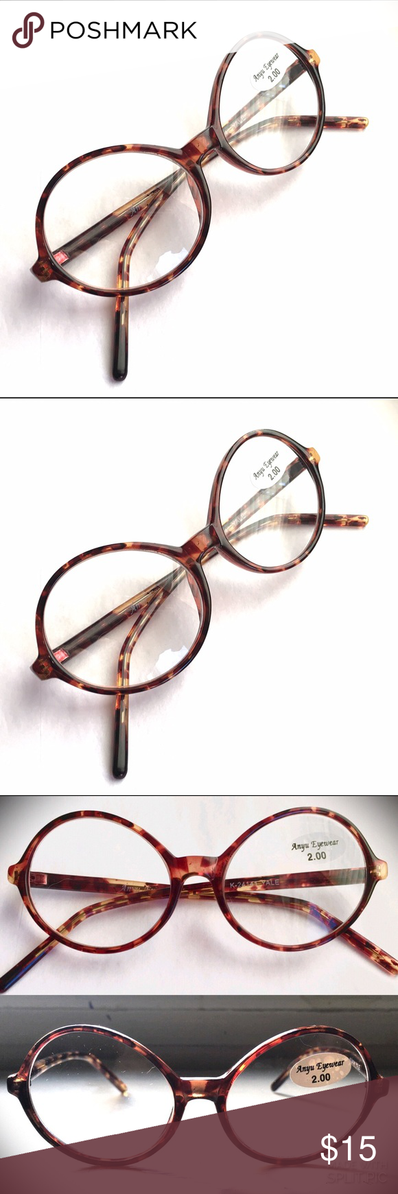 NEW Reading Glasses Tortoise Oval Cat Eye Boutique | Reading glasses ...