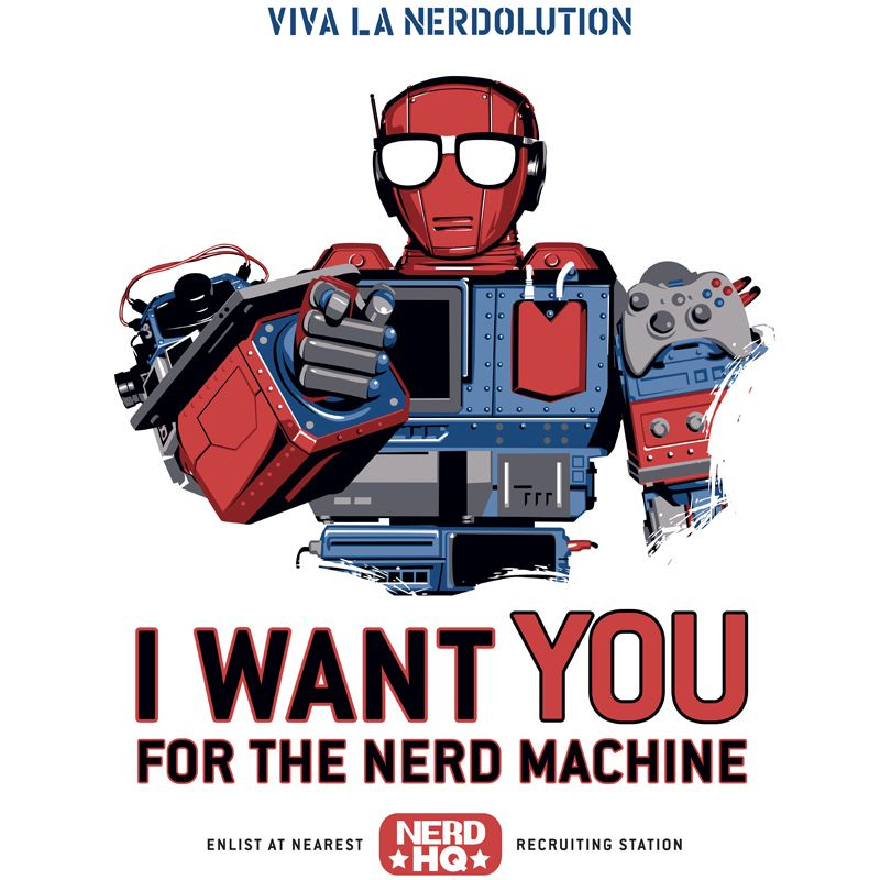 » Uncle ROI The Nerd Machine I WANT THIS!!