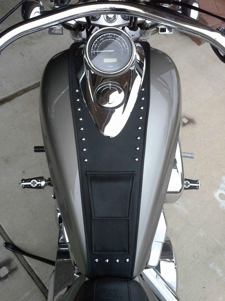 Honda 1300 Interstate Sabre Stateline Tank Bib Bra Pocket Studs Made In Usa Ebay Honda Stateline Motorcycle Leather