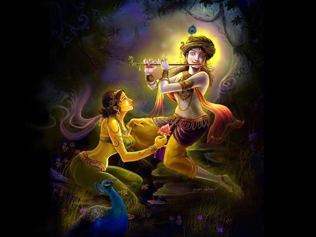 Free Download Radhe Krishna Wallpapers Illustraties Spiritueel Rups