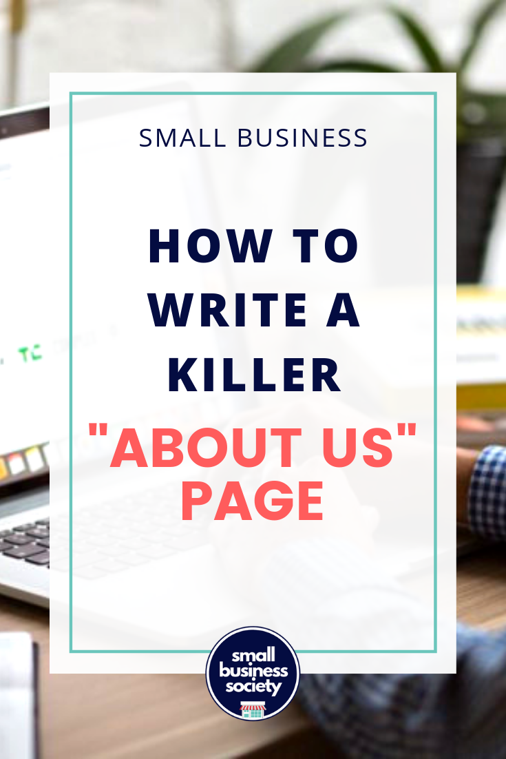 """""""About Us""""= Prime website real estate - SMALL BUSINESS SOCIETY"""