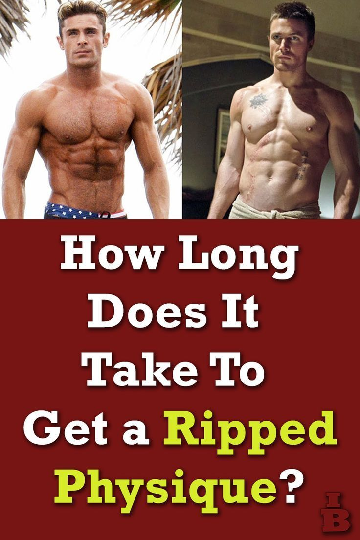 How Long Does It Take To Get Ripped? (Naturally) (With