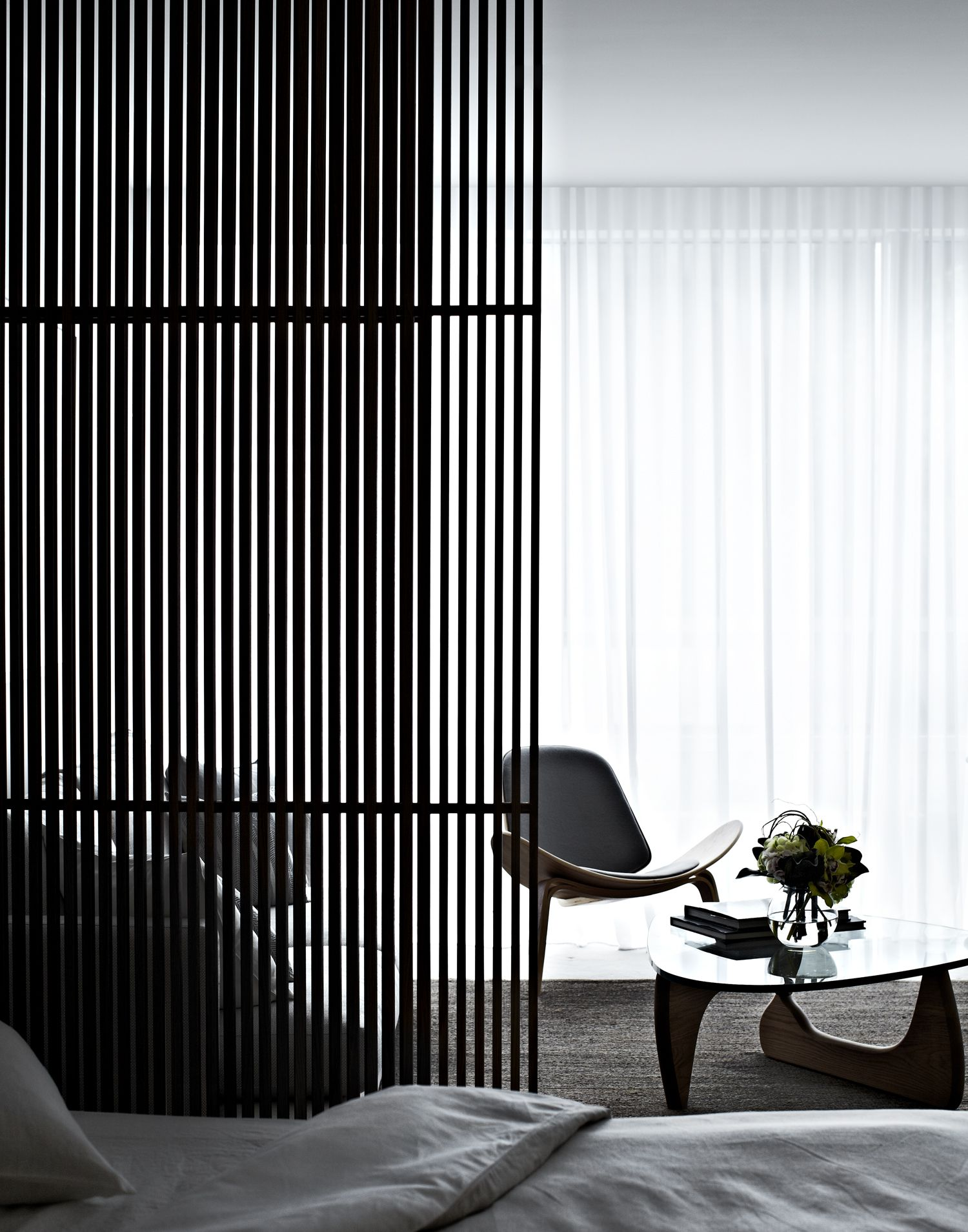 Modern architecture divider room and architects