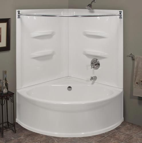 Sea Wave V Corner Soaking Bathtub At Menards Bathtub Shower Combo