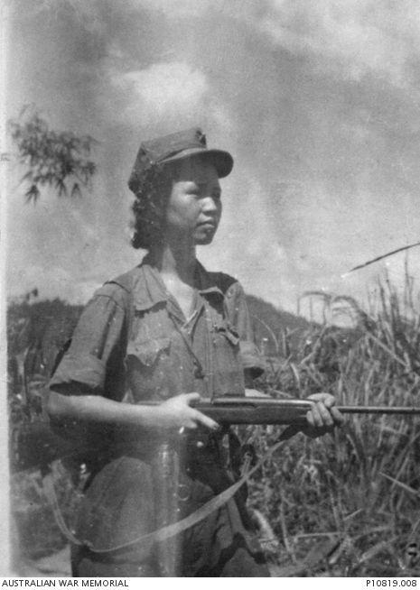 Lee Min, leader of the communist Kepayang Gang in the Ipoh