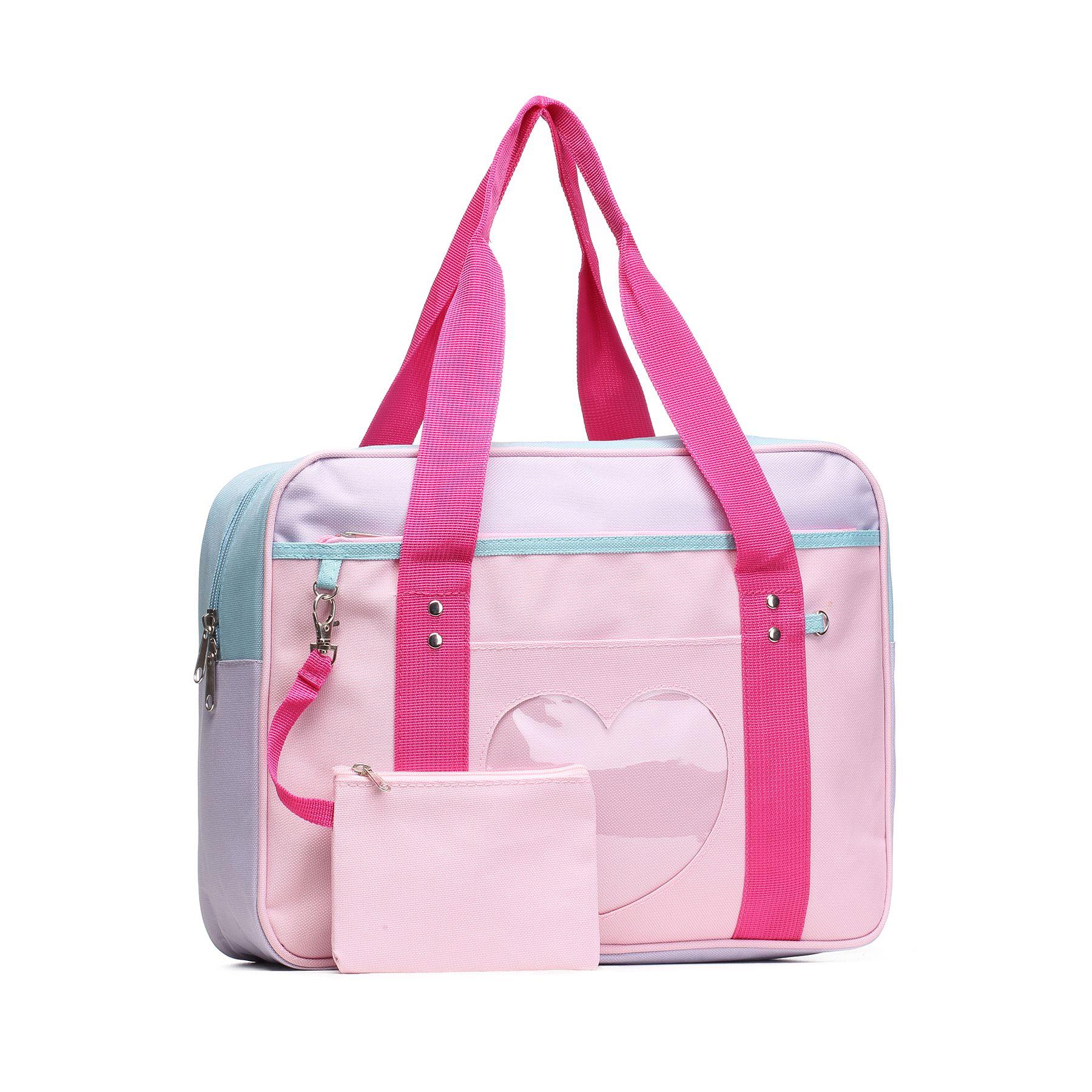 Ita bag heart japanese bag girls large laptop purse anime