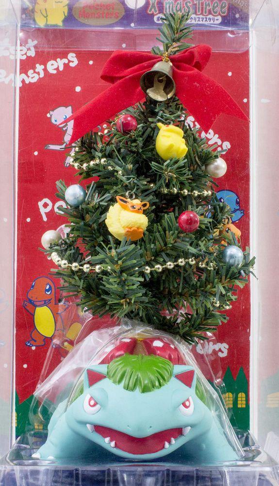 RARE! Pokemon Christmas Tree Venusaur Fushigibana Figure