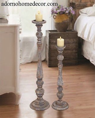 Floor Candle Pillars