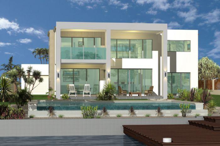 GJ Gardner Home Designs: Blue Water 497 Facade Option. Visit www ...
