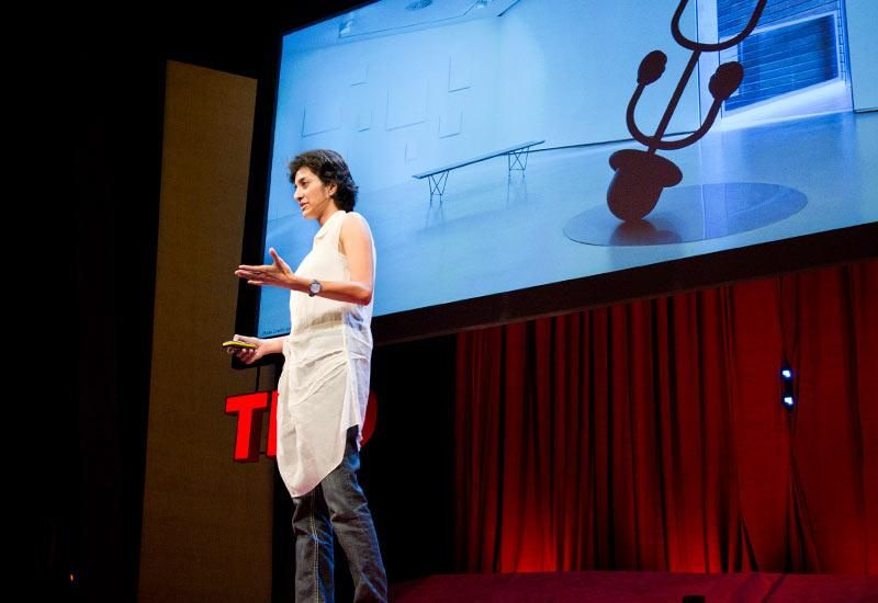 Artist and TED Fellow Aparna Rao re-imagines the familiar in surprising, often humorous ways. With her collaborator Soren Pors, Rao creates high-tech art installations -- a typewriter that sends emails, a camera that tracks you through the room only to make you invisible on screen -- that put a playful spin on ordinary objects and interactions.