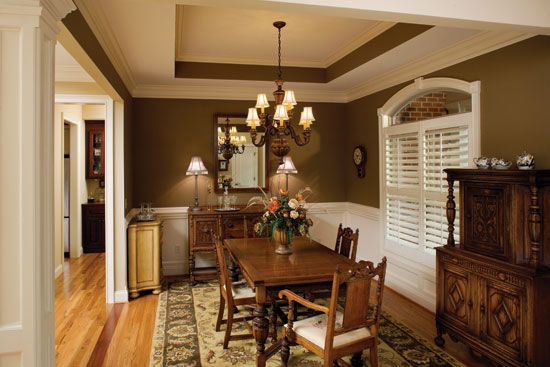 Dining Room from Plan 1043 - The Lujack