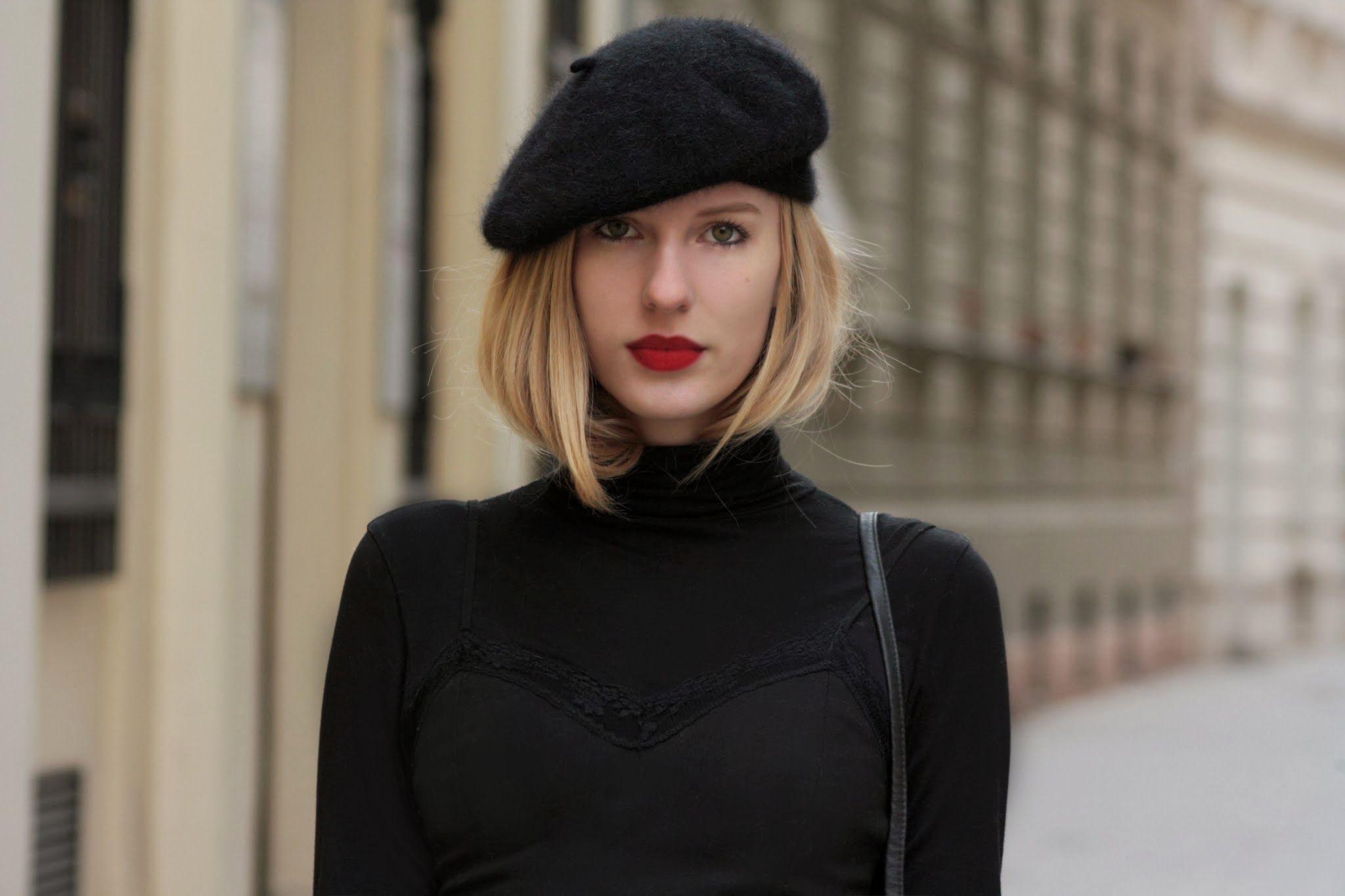 fbaa6e4ce87b0 beret   bright lips