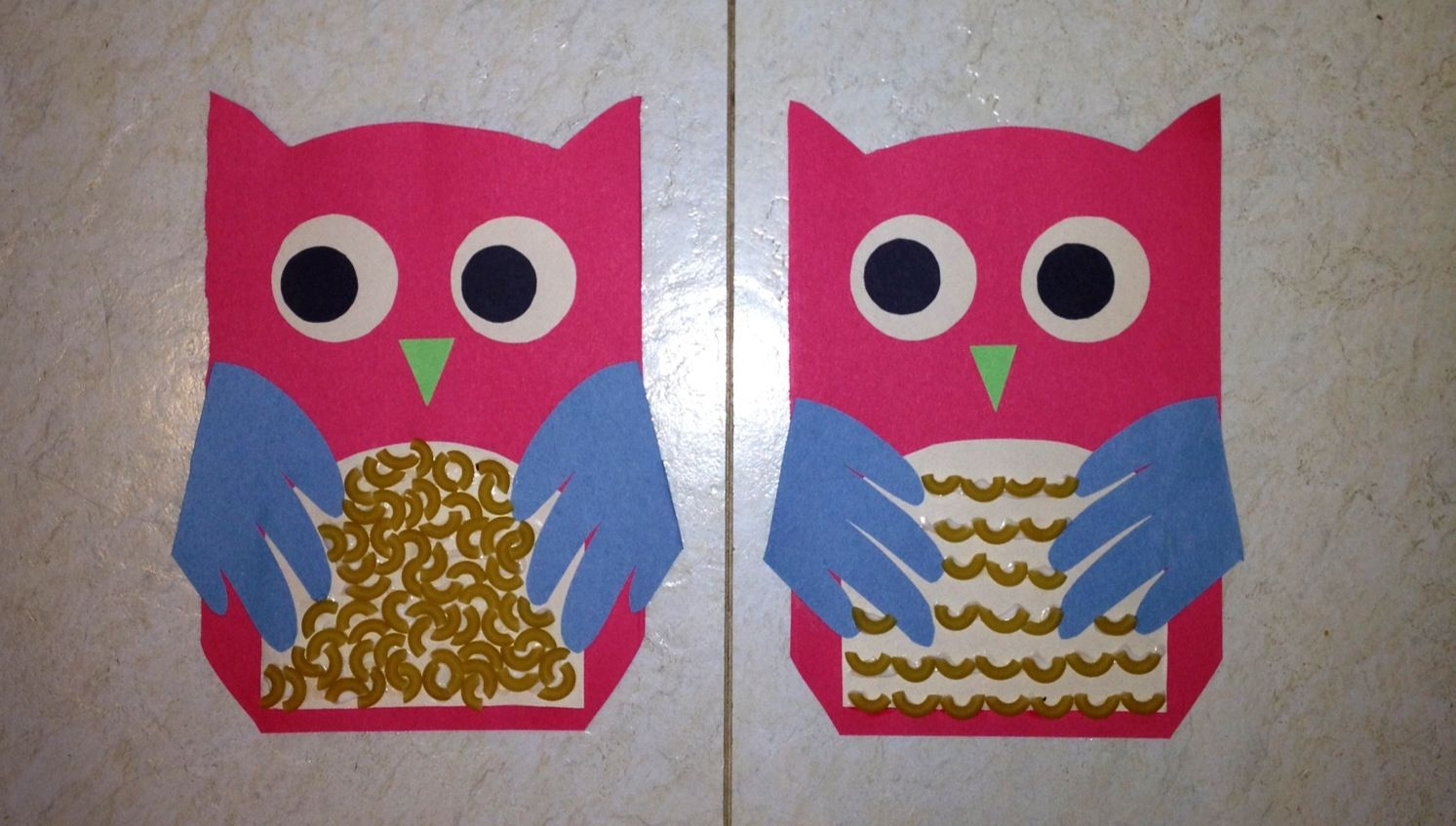 Toddler Craft With Construction Paper