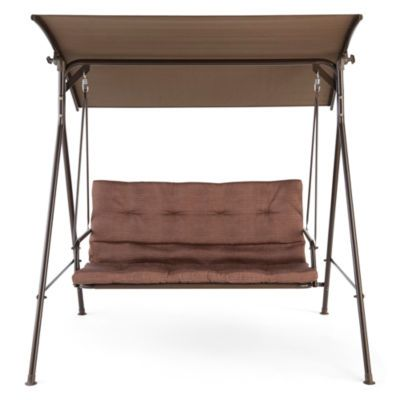 Outdoor Oasis™ Newberry Two Seat Canopy Swing  sc 1 st  Pinterest & Outdoor Oasis™ Newberry Two Seat Canopy Swing | Canopy swing ...