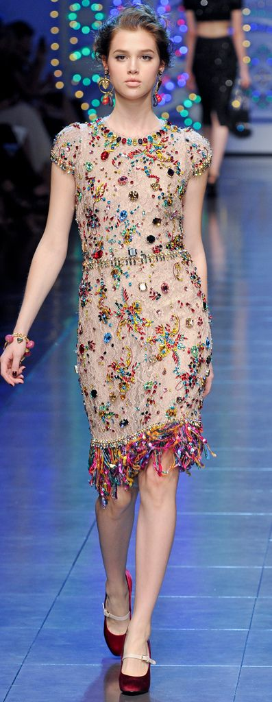 SPRING 2012 RTW Dolce & Gabbana  εїз ❤ | BLAIR SPARKLES |