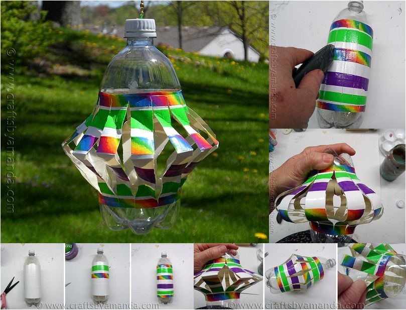 Kids toy storage ideas that will make your life easier for Recycled water bottle crafts for kids