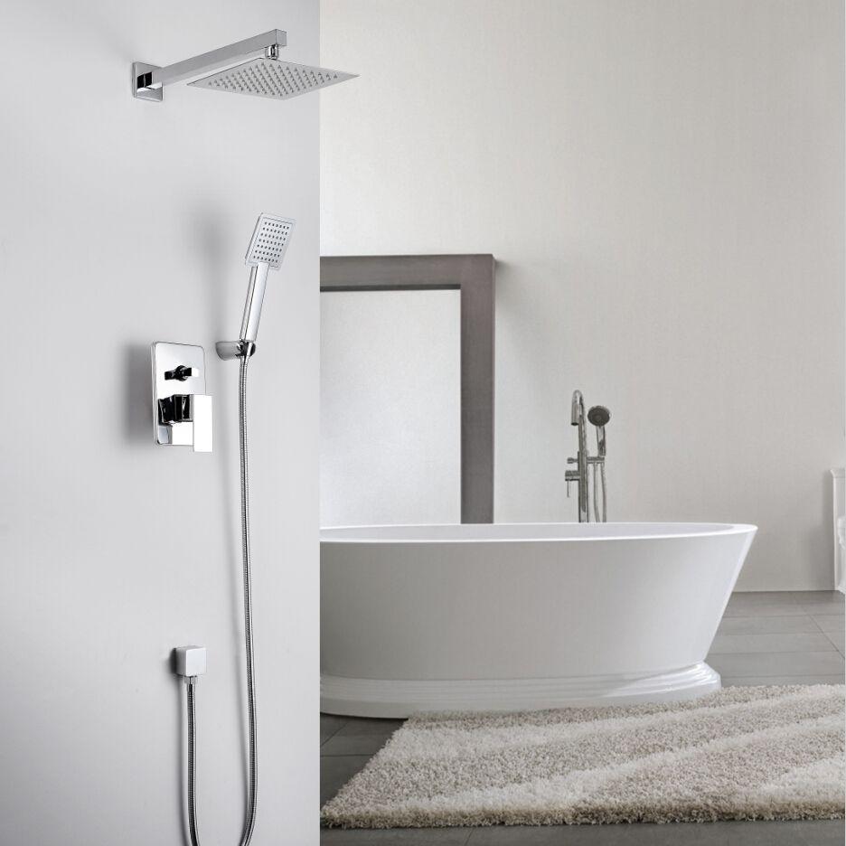 KiaRog Bathroom Shower Set.Concealed Shower Faucet.200 MM (8 ...