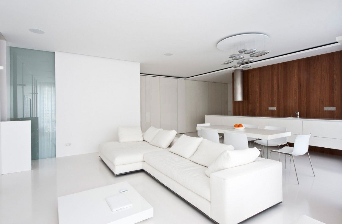 Outstanding Rhythmic Contemporary Apartment Interior Design By ...