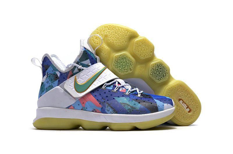 bdf162896ad6 Nike LeBron 14 High Quality LeBron 14 Nike LeBron 14 Yellow Dark Blue for  Sale Nike LeBron James 14 All Star Shoes Army The Nike LeBron 14 Thread  Retail 175 ...