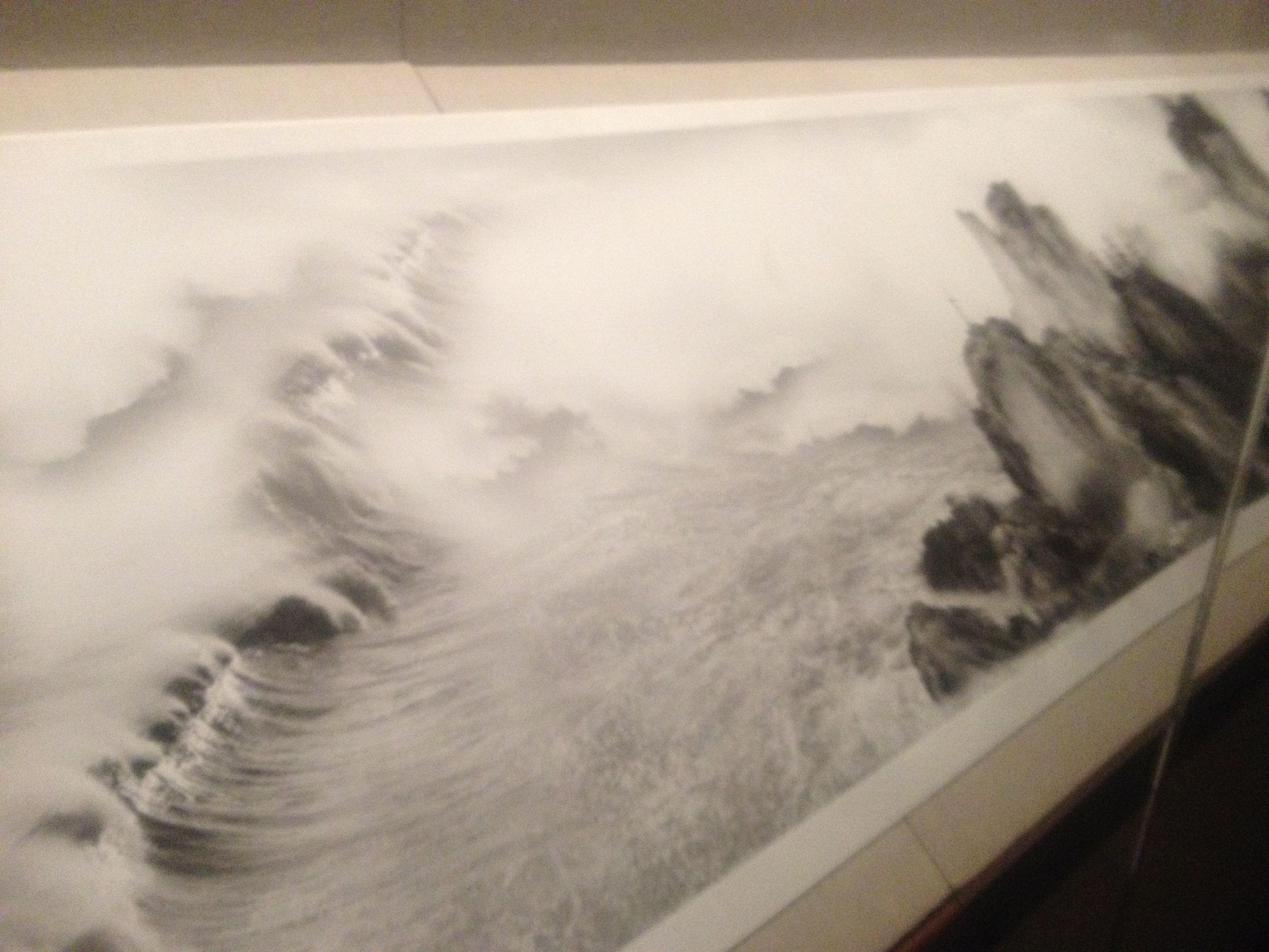 Yang Yongliang View Tide - MET Chinese Ink Exhibit 2014