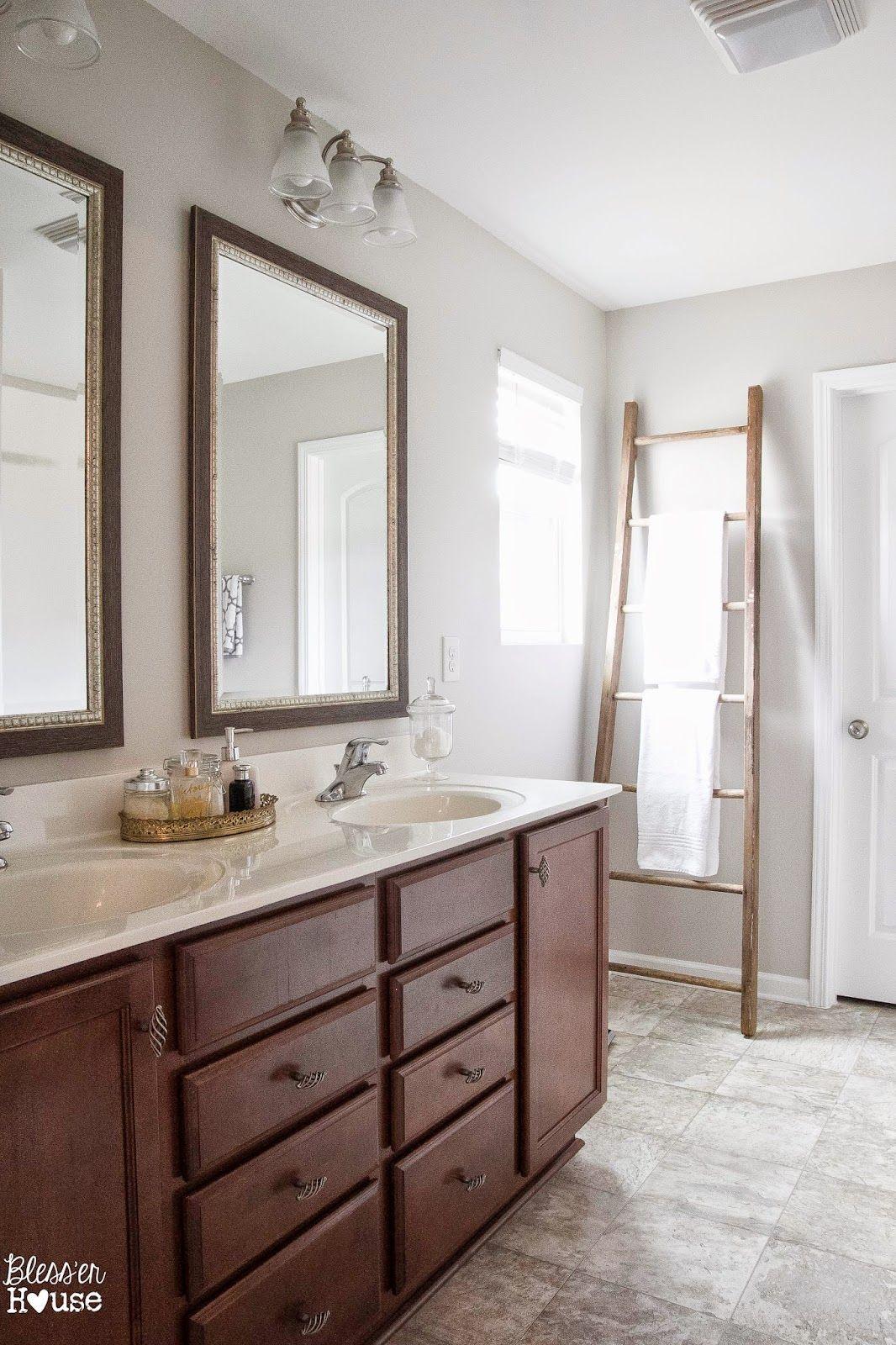 Bathroom Towel Rack Installation