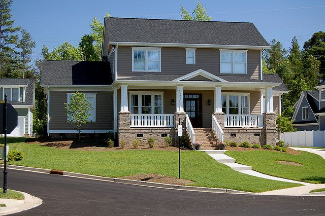 The Mayberry Home Plan Craftsman Design In Baxter Village By Evans