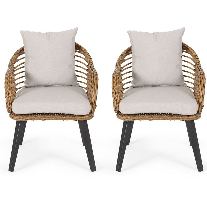 Rattan Chairs In 2020 Wicker Patio Chairs Club Chairs Furniture