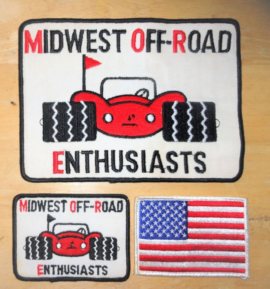 3 Vintage Racing Team Patches 1 Large Mw Off Road Enthusiast 1 Small 1 Us Flag Vintage Racing Racing Team Vintage